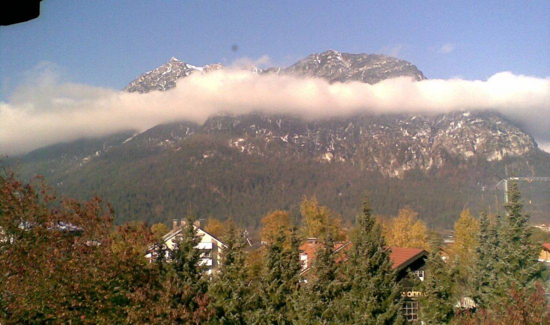 Ausblick von der Ferienwohnung Alpenblick