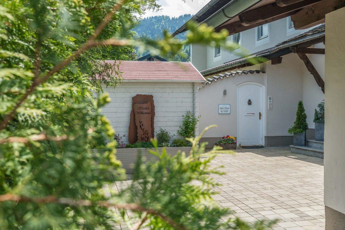 Außenbereich AlpenDeluxe